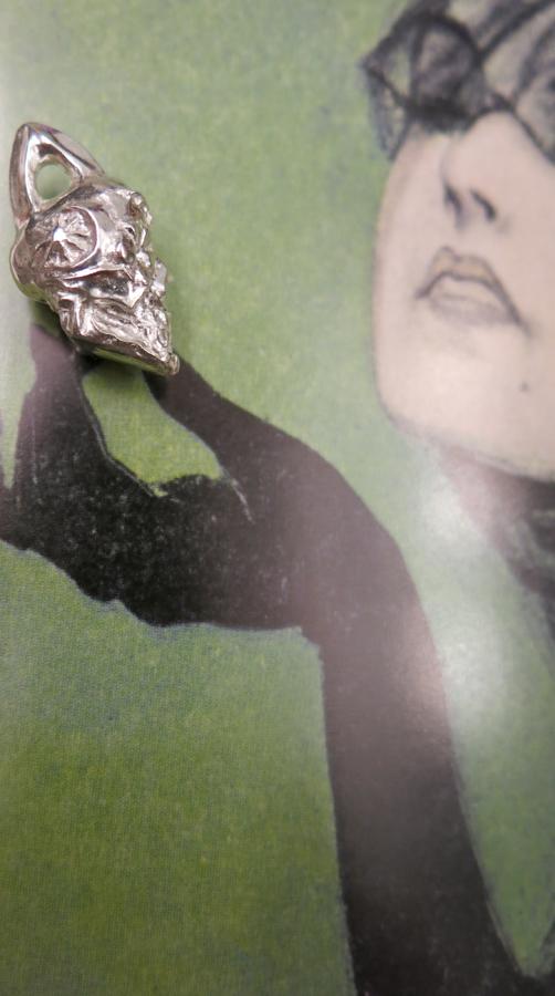 Ottawa_Silver_Jewelry_sugar_skull_pendant_style_denim